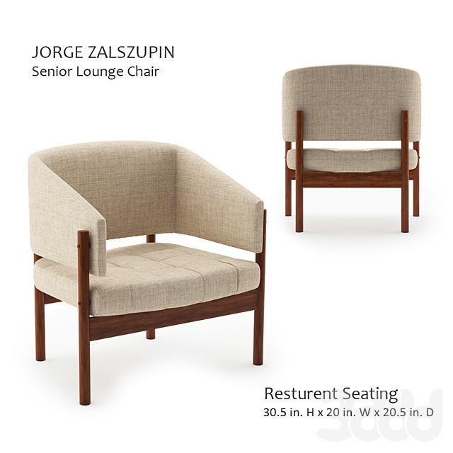 Jorge zalszupin-Seneior Lounge Chair