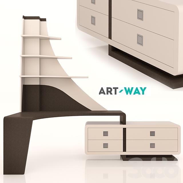 Art Way - Письменный стол Canto Modern