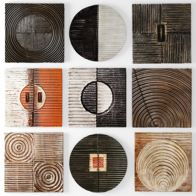 Wood Wall Sculpture by Kipley Meyer