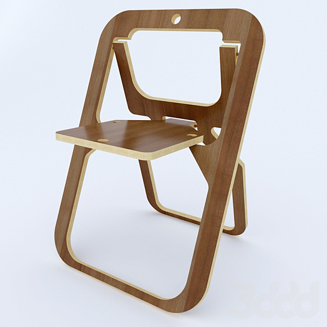 Складной стульчик из МДФ