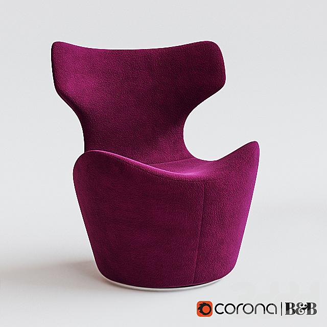 """B&B"" Italia Piccola Papilio chair"