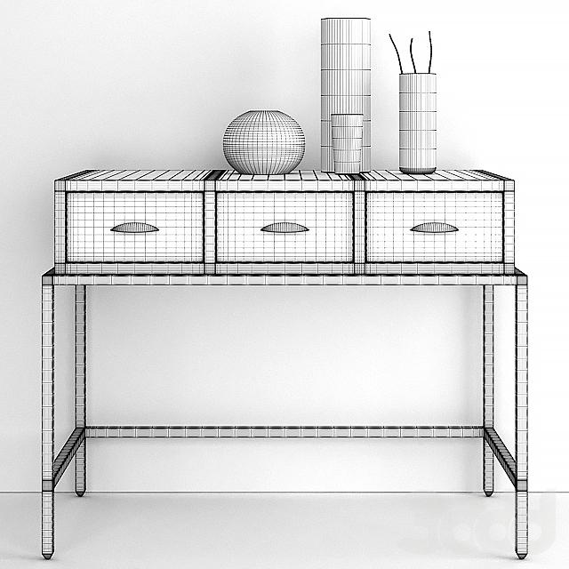 Компактный, кабинетный стол Феликс Деск от Джулиан Чичестер.
