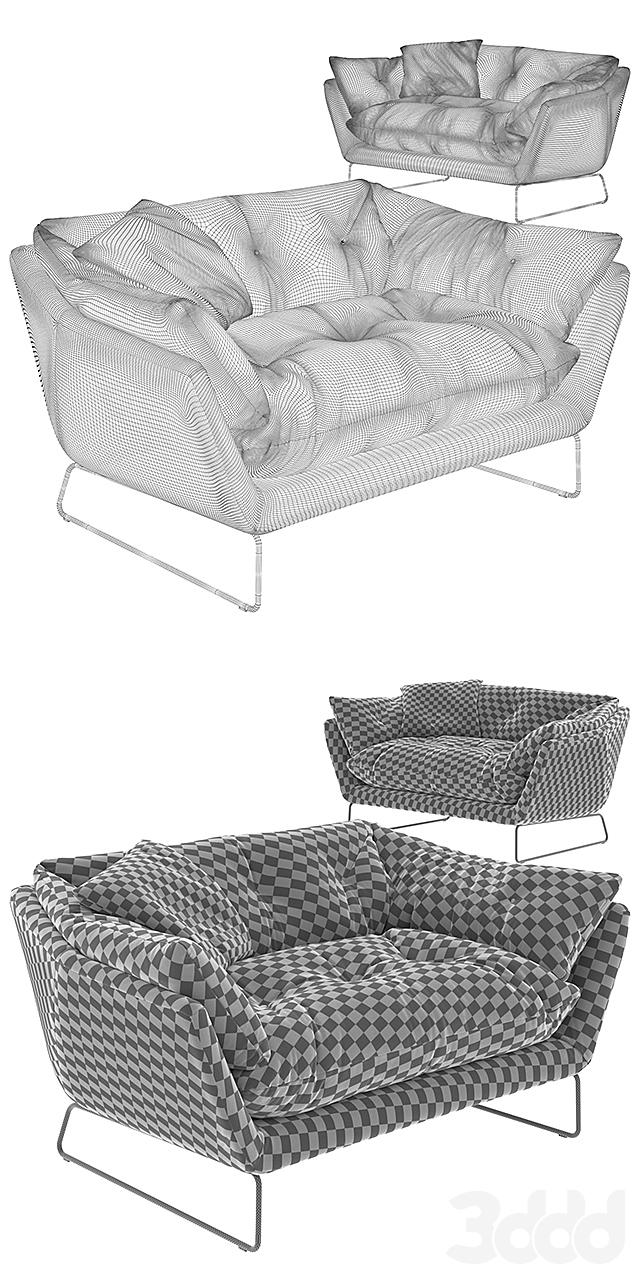 Saba Italia New York Suite Sofa