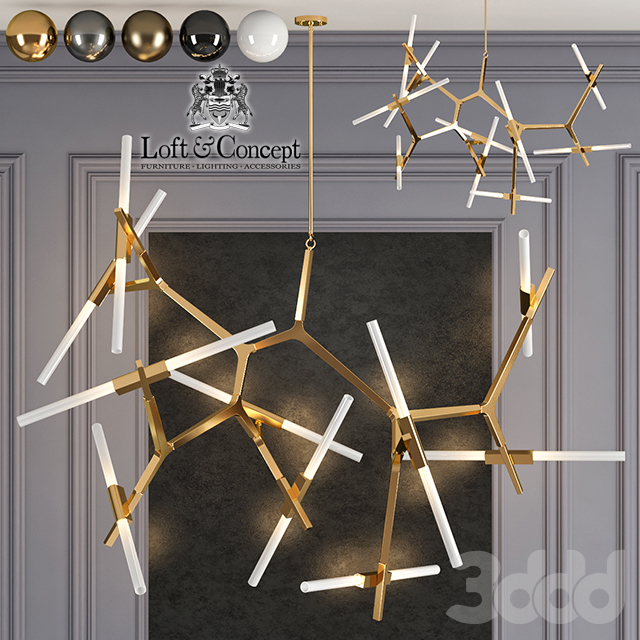 Люстра Roll and Hill Agnes Chandelier 20