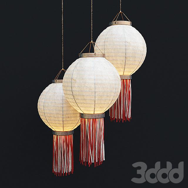 Chinese lantern Китайский фонарь