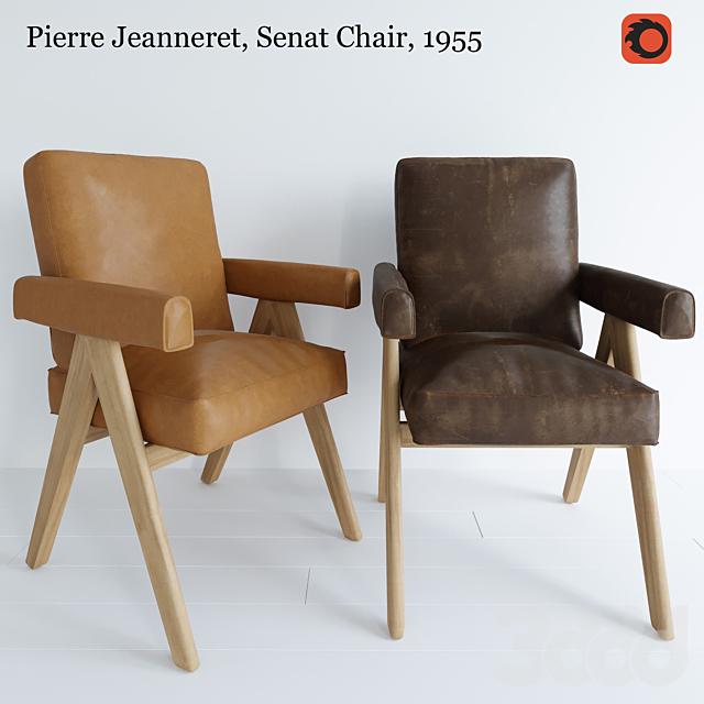Pierre Jeanneret, Senat Chair, 1955