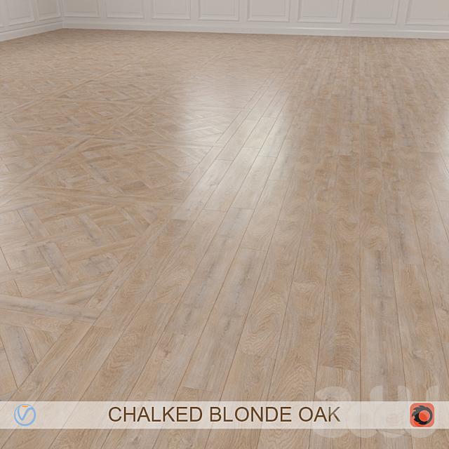 CHALKED BLONDE OAK PARQUET