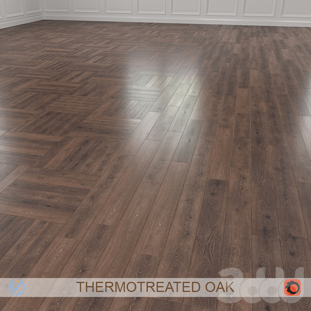 THERMOTREATED OAK PARQUET