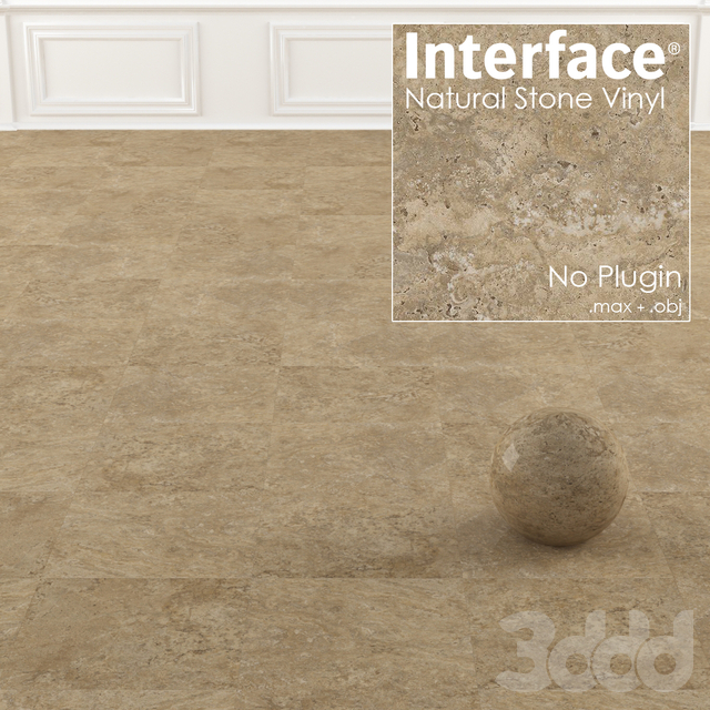 Interface Natural Stone Vinyl Texture No:1