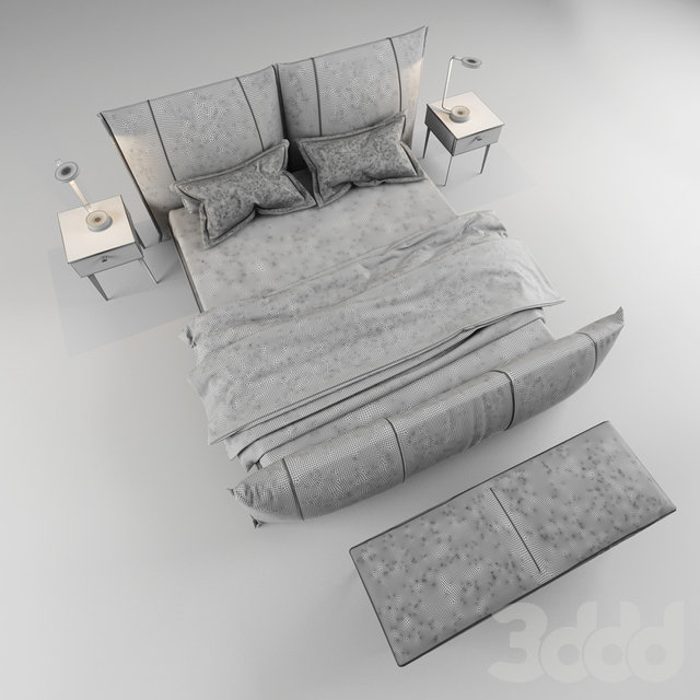 PEPPER NIGHT bed by GAMMA