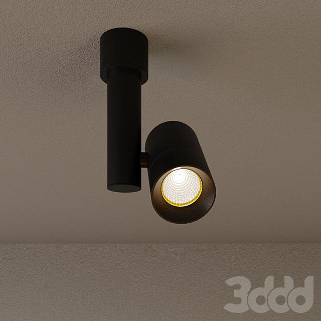 """Накладной светильник DP-011BW60 """"Around M""""-черный"""