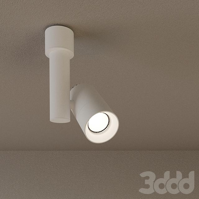 """Накладной светильник DP-011BW60 """"Around M"""" - белый"""