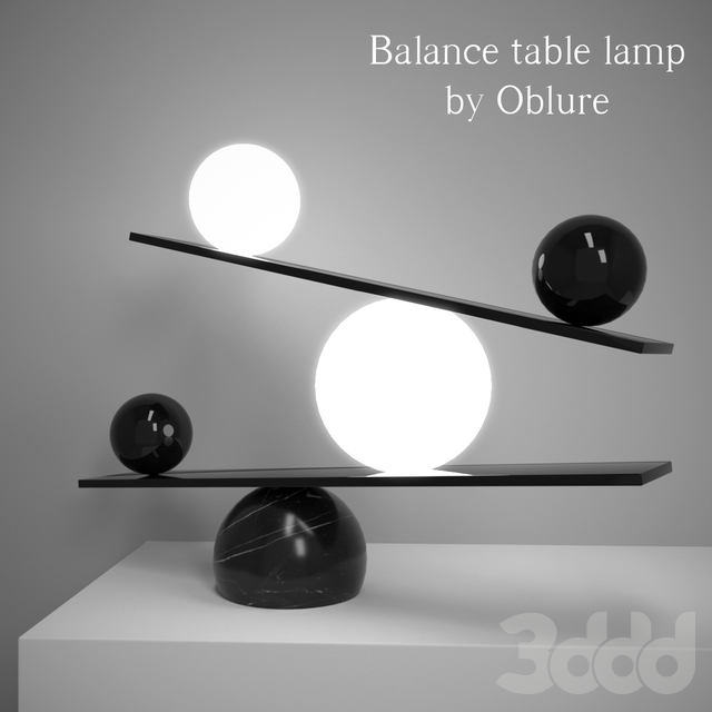 """""""Balance"""" lamp by Victor Castanera. Oblure"""