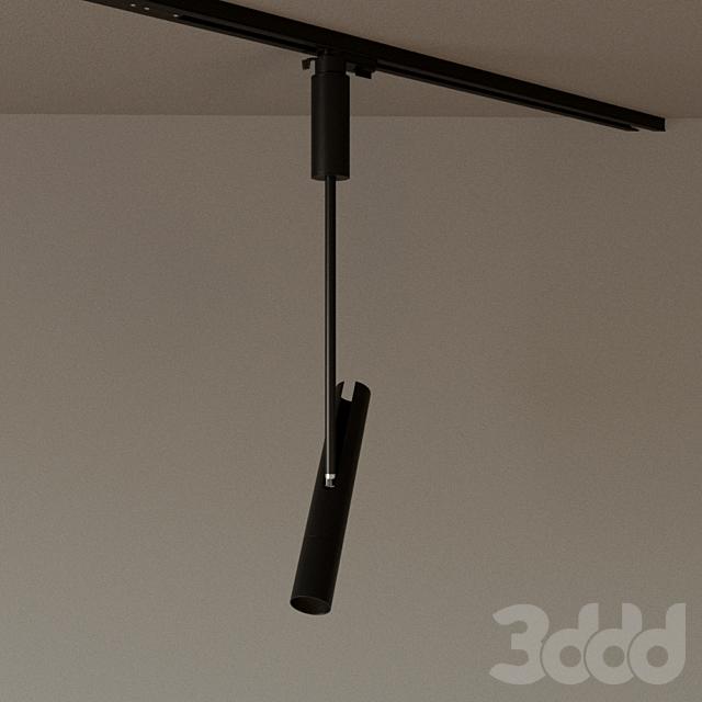 """Трековый светильник DT-063BW7 """"Track Grace"""" черный"""