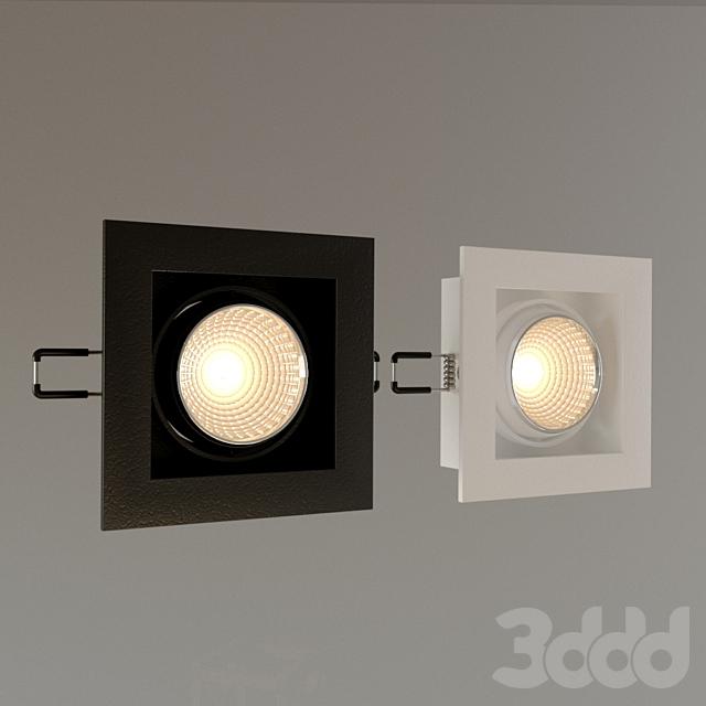 """Встраиваемый светильник DS-030B60 """"QUATTRO x 1"""""""