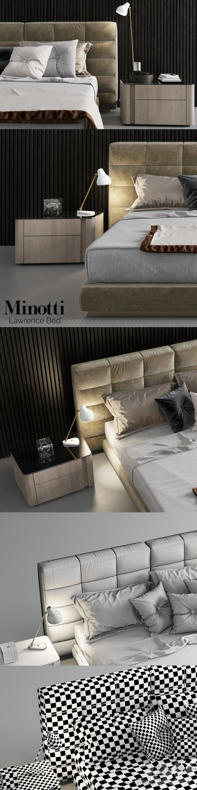 Minotti Lawrence Bed - 2