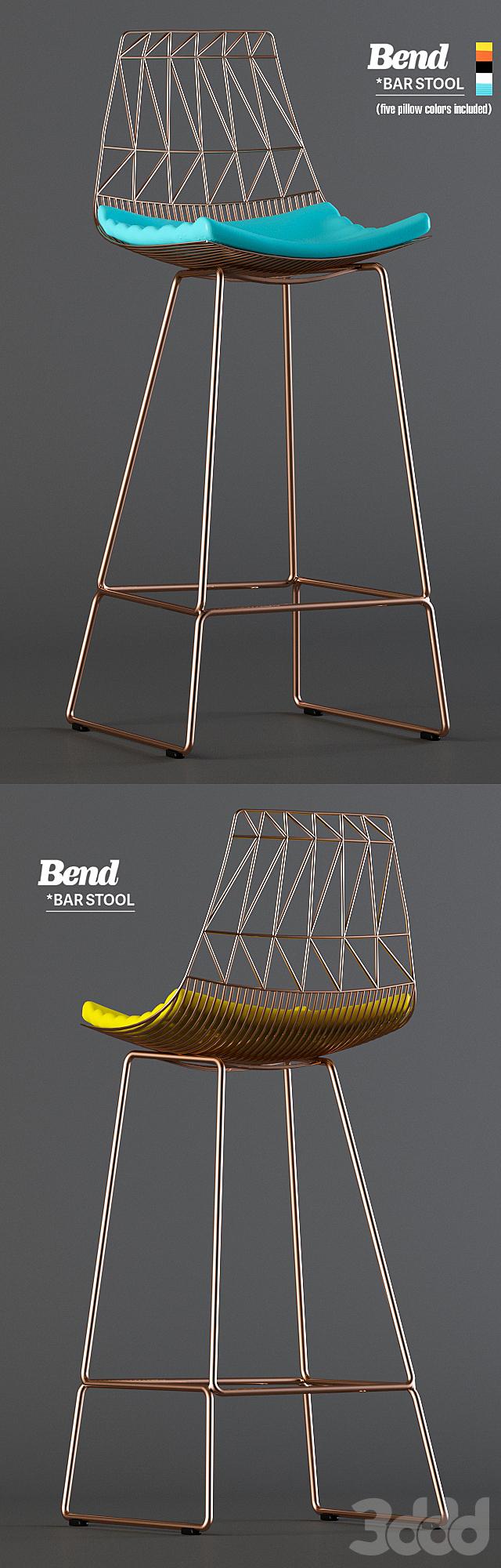 Bend Bar Stool