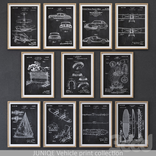 Vehicle Print collection