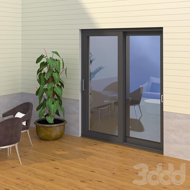 Раздвижная дверь ASS 70.HI - ST 2A