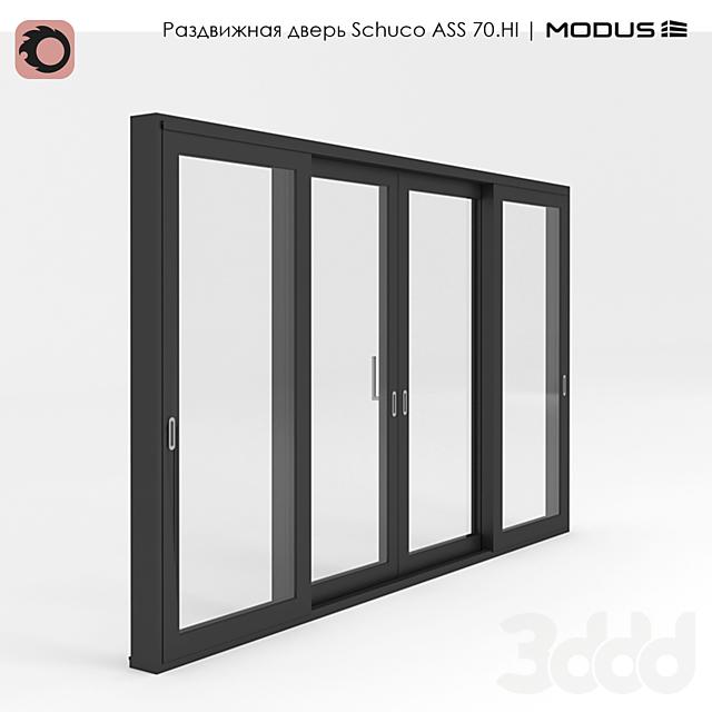 Раздвижная дверь ASS 70.HI - ST 2D