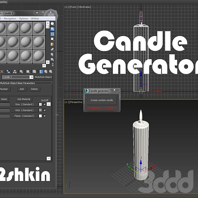 Candle generator v0.1