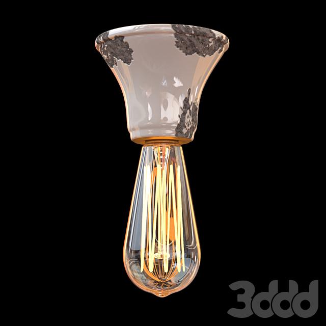 Потолочный светильник D 100 Ferroluce RETRO коллекция VINTAGE