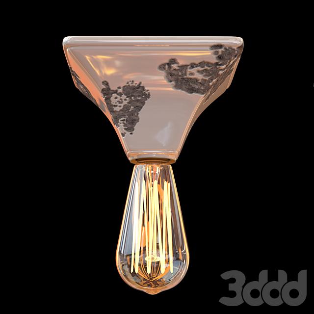 Потолочный светильник 150х150 Ferroluce RETRO коллекция VINTAGE