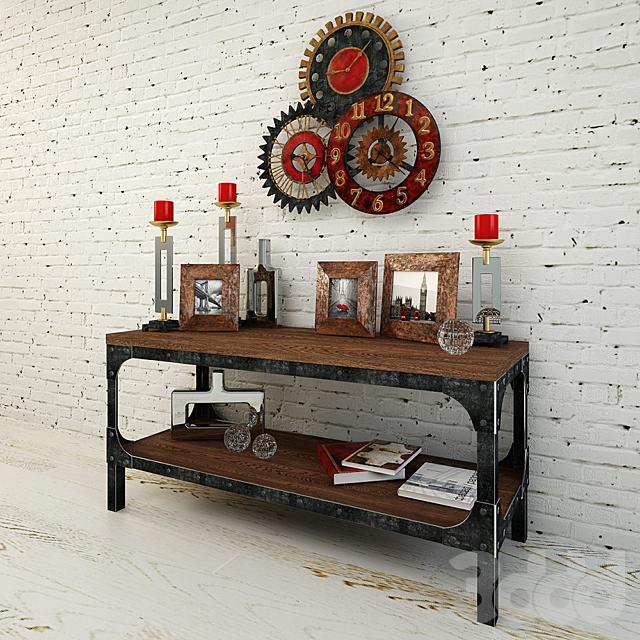 Набор декора в стиле лофт: Uttermost, IMPORTHOME, DG-HOME,
