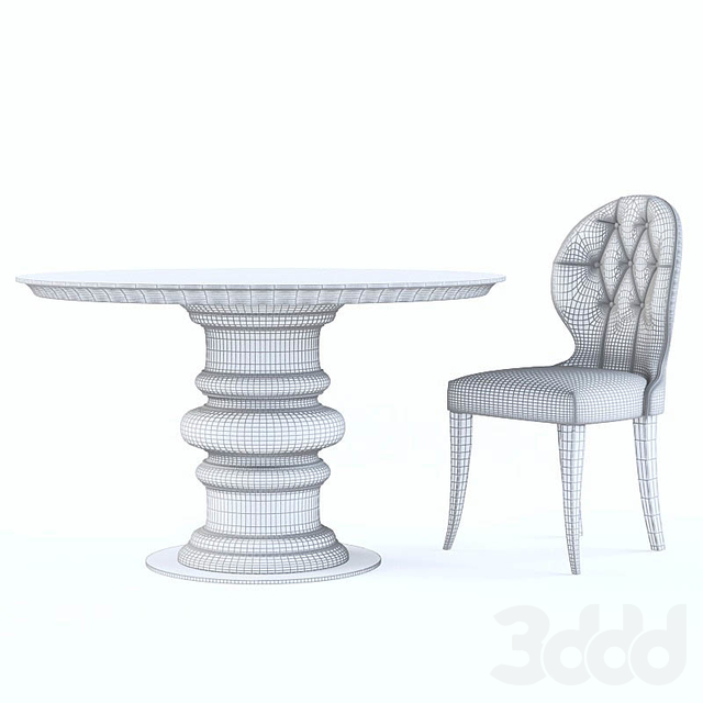 Angelo Cappellini table and chair