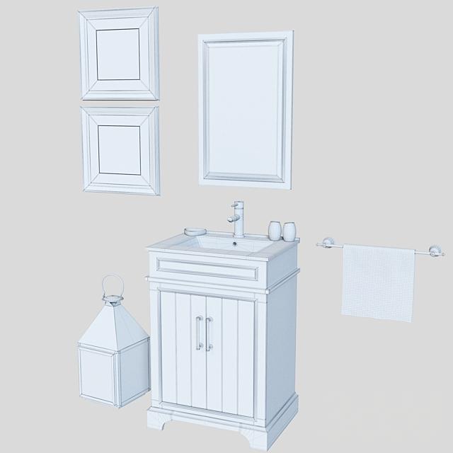 BATHROOM VANITY WH7724 by Legion Furniture