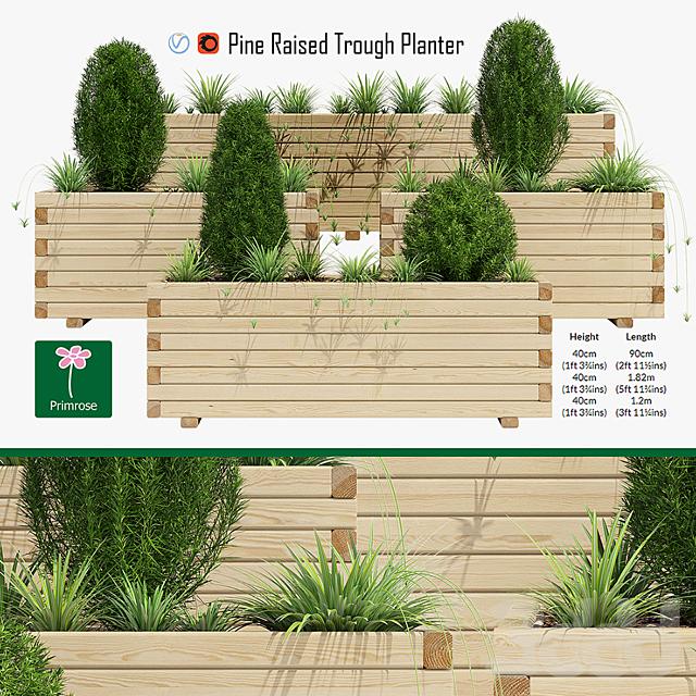 Pine planter