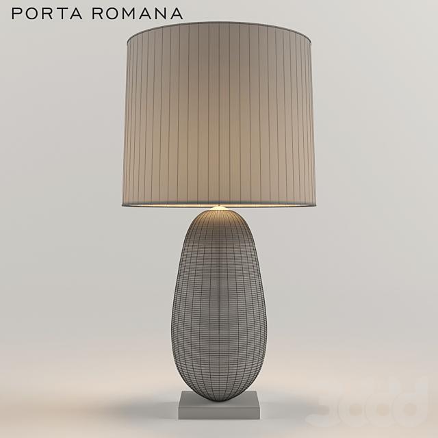 Porta Romana Coffee Bean Table Lamp
