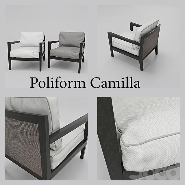 Кресло фабрики Poliform Camilla