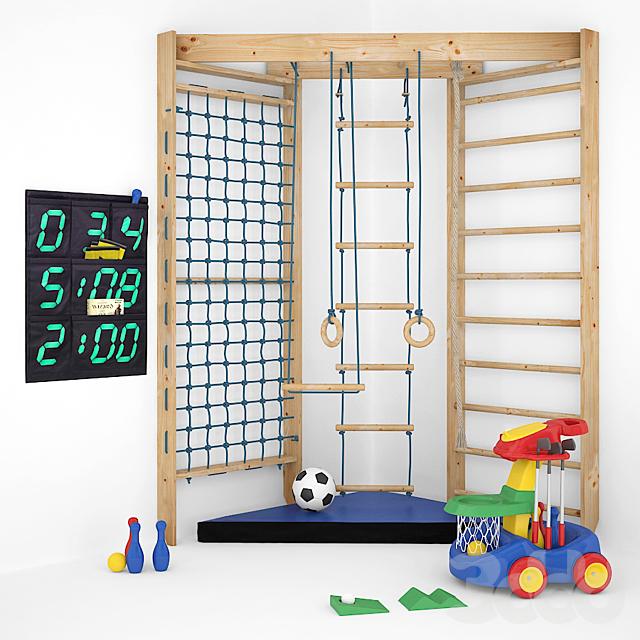 Спортивный комплекс для детей 01
