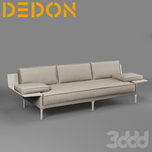 Dedon RAYN 3-seater