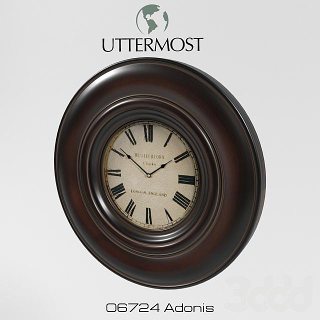 Часы астенные Uttermost 06724 Adonis