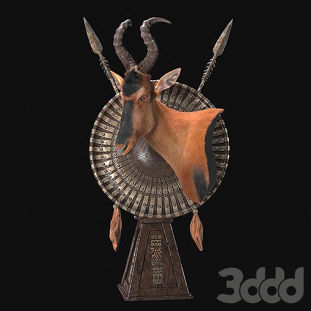 Каама (Red hartebeest )