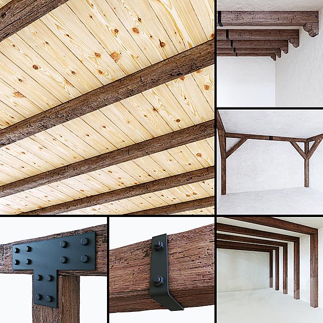 Декоративные деревянные балки