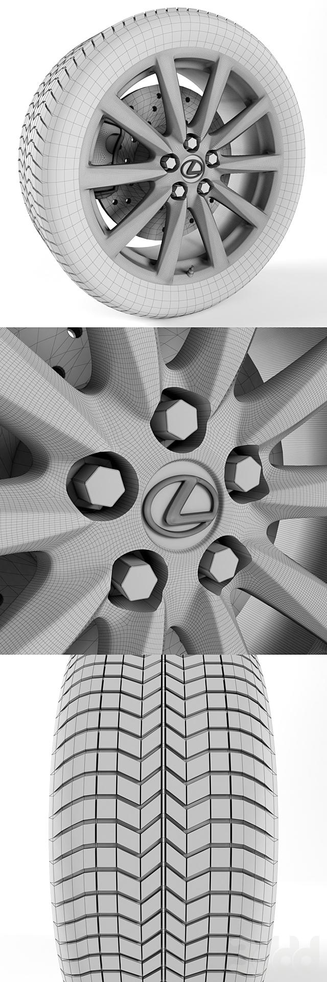 Lexus IS-F Колесо