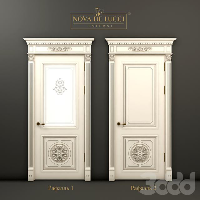 Классические двери Рафаэль 1 и Рафаэль 2