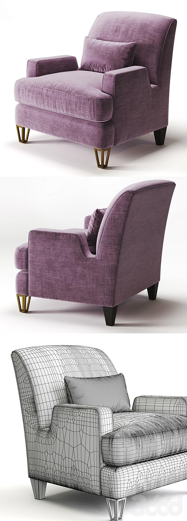 BAKER  Almandine Lounge Chair