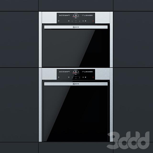Neff - духовой шкаф B45CR22N0R и компактный духовой шкаф C15CR22N0