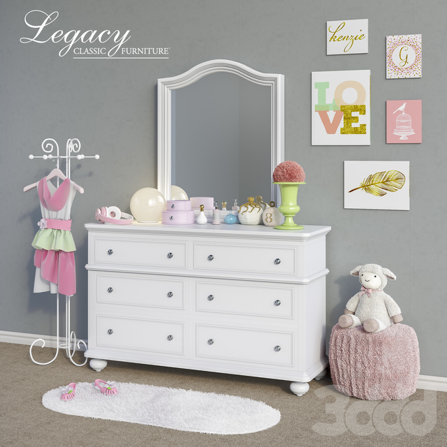 Мебель Legacy Classic, аксессуары, декор и игрушки set 5