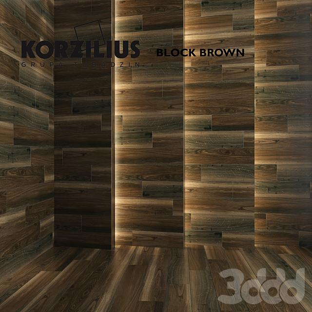 Korzilius Block Brown