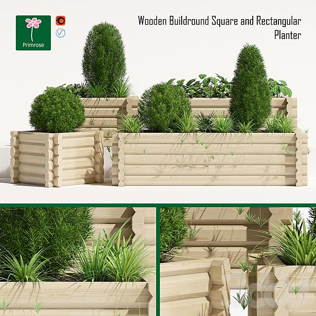 Buildround planter