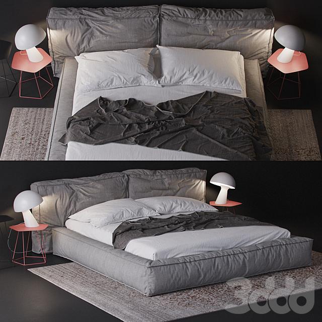 bonaldo fluff bed