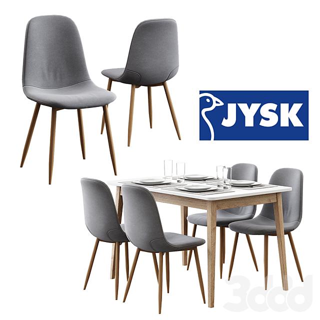 Jysk / Jonstrup Chair + Gammelgab Table