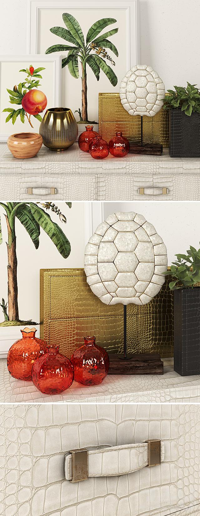 Rugiano Florida + decorative set