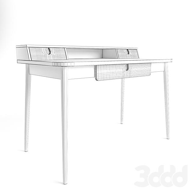 Стол Penn Desk, Pale Ash and Eton Blue