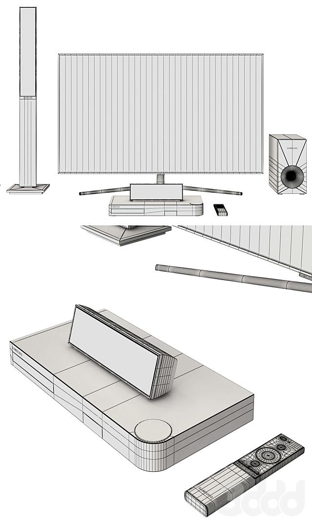 Samsung TV QLED  Home Сinema Blu-ray 1